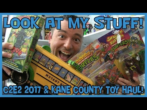 Look at my Stuff! - C2E2 2017 & Kane County Toy Show Haul!