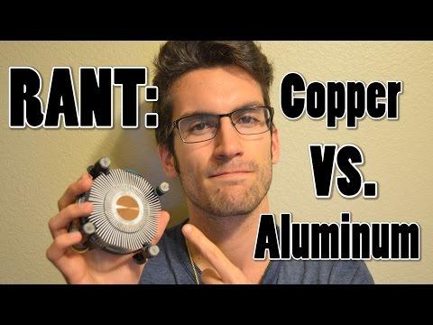 Copper vs. Aluminum: Stock Intel Heatsink Rant