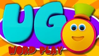 Learning Street With Bob | Sight Words | UG Words | Word Play | Videos For Toddlers by Kids Tv