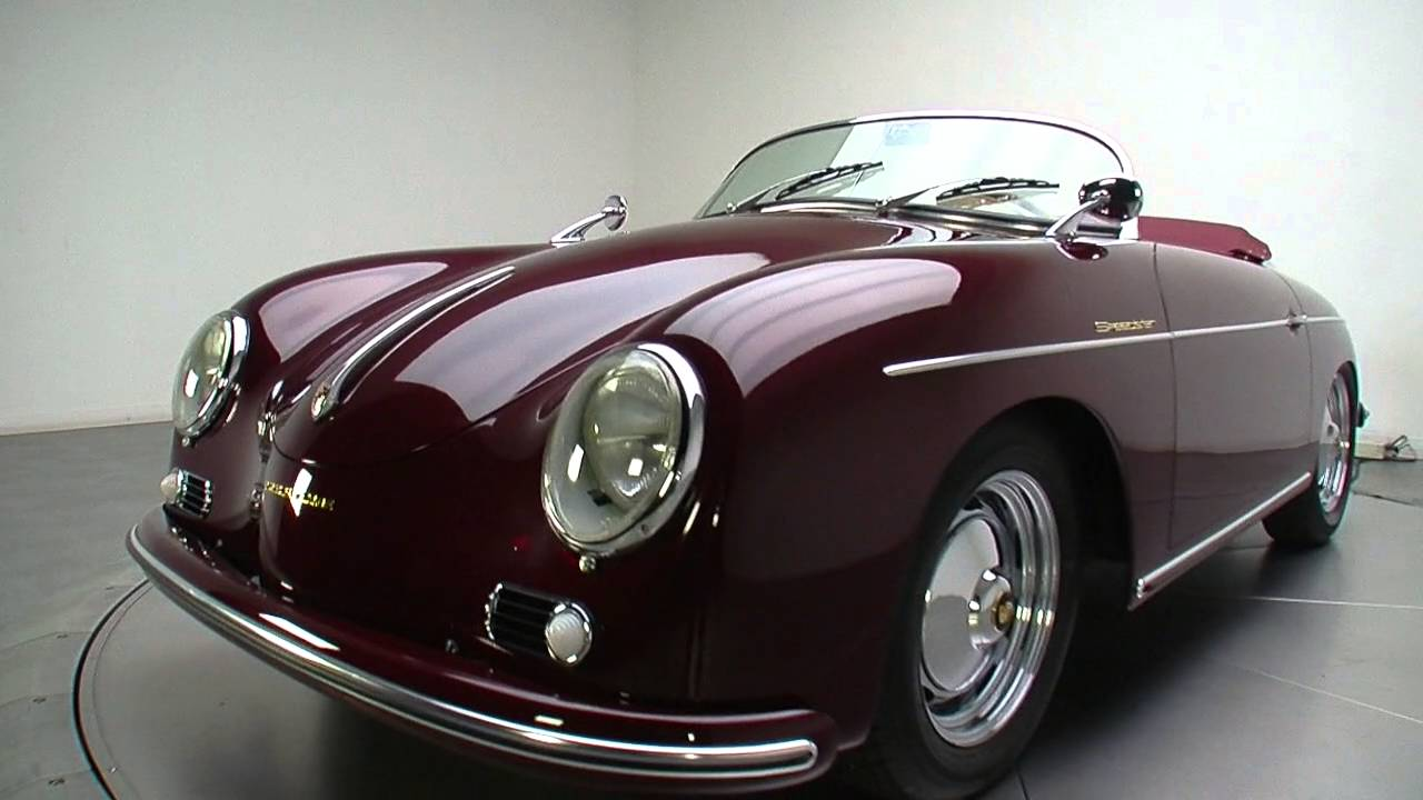 135403 1956 porsche 356 speedster replica youtube. Black Bedroom Furniture Sets. Home Design Ideas