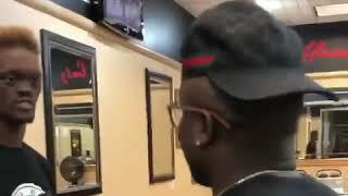Прикол в парикмахерской