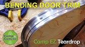 Pre-made Teardrop Trailer Doors - YouTube
