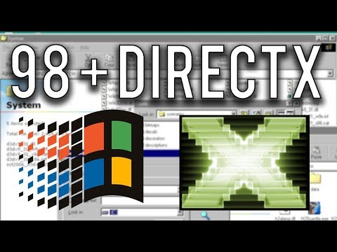Vista Apps On Windows 98 Followup - Installing DirectX