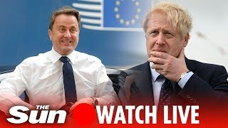 WATCH LIVE: PM Boris Johnson and Xavier Bettel give joint news conference