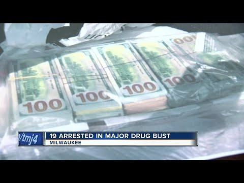 19 arrested in Milwaukee in federal drug bust