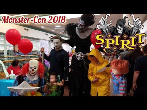 Spirit Halloween | Monster Con 2018 | Halloween Party Wonderland of the Americas Mall