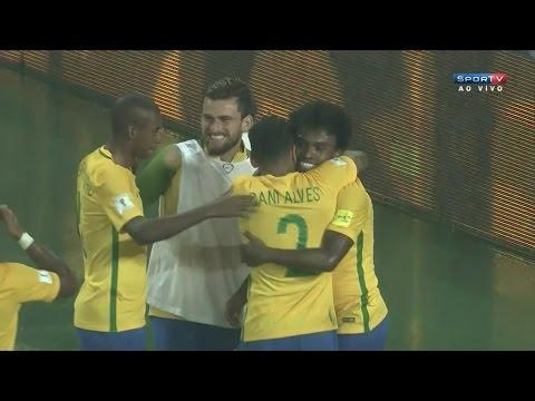 Brasil 2 x 0 Venezuela - Melhores Momentos - Eliminatórias da Copa de 2018