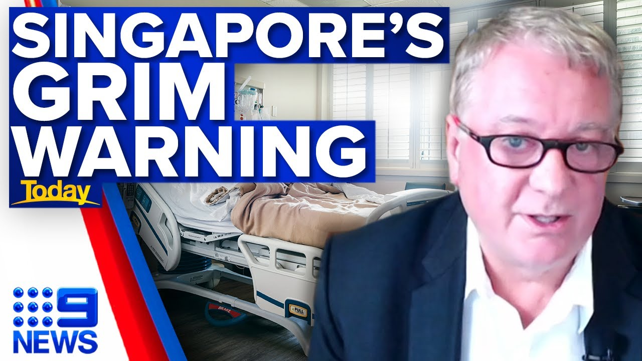 Singapore - HAS HEALTHY PEOPLE IN CONCENTRATION CAMPS!