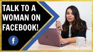 How To Talk To A Woman on Facebook | 3 Tips To Success!