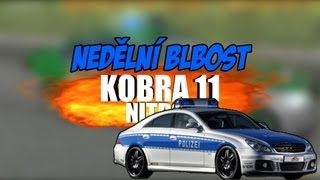 Český GamePlay | Nedělní Blbosti | Kobra 11 Nitro | Simír Gerchán vs Pankáči |