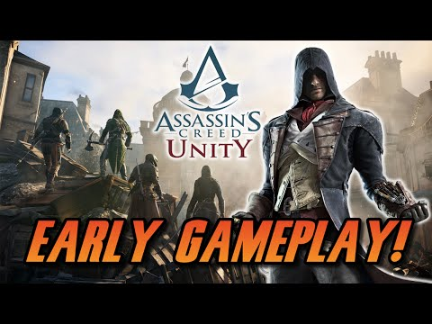 Assassin's Creed Unity - All Weapons, Outfits, & Customization! - Early Gameplay Review (1080p)