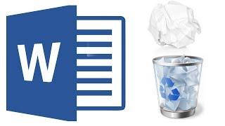 Как удалить лишнюю пустую страницу в Ворде 2016 в середине или в конце документа?