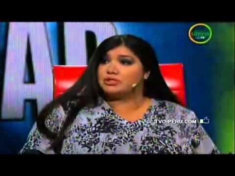 Lucy Cabrera se presentó en el programa El valor de la verdad