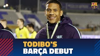 Todibo's debut for Barça