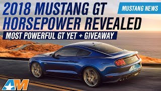 2018 Ford Mustang GT & EcoBoost Horsepower, Torque, And Specs Revealed - Mustang News