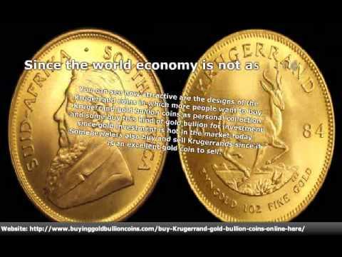 Buying Krugerrand Gold Bullion Coins