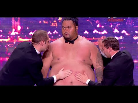 Tummy Talk Drum - France's Got Talent 2013 Audition - Week 2