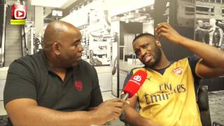 The new Arsenal away kits got SWAG says Lethal Bizzle