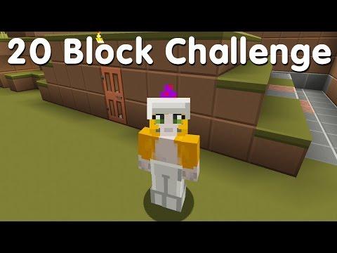 Minecraft PS4 - 20 Block Challenge - Hill Home (3)