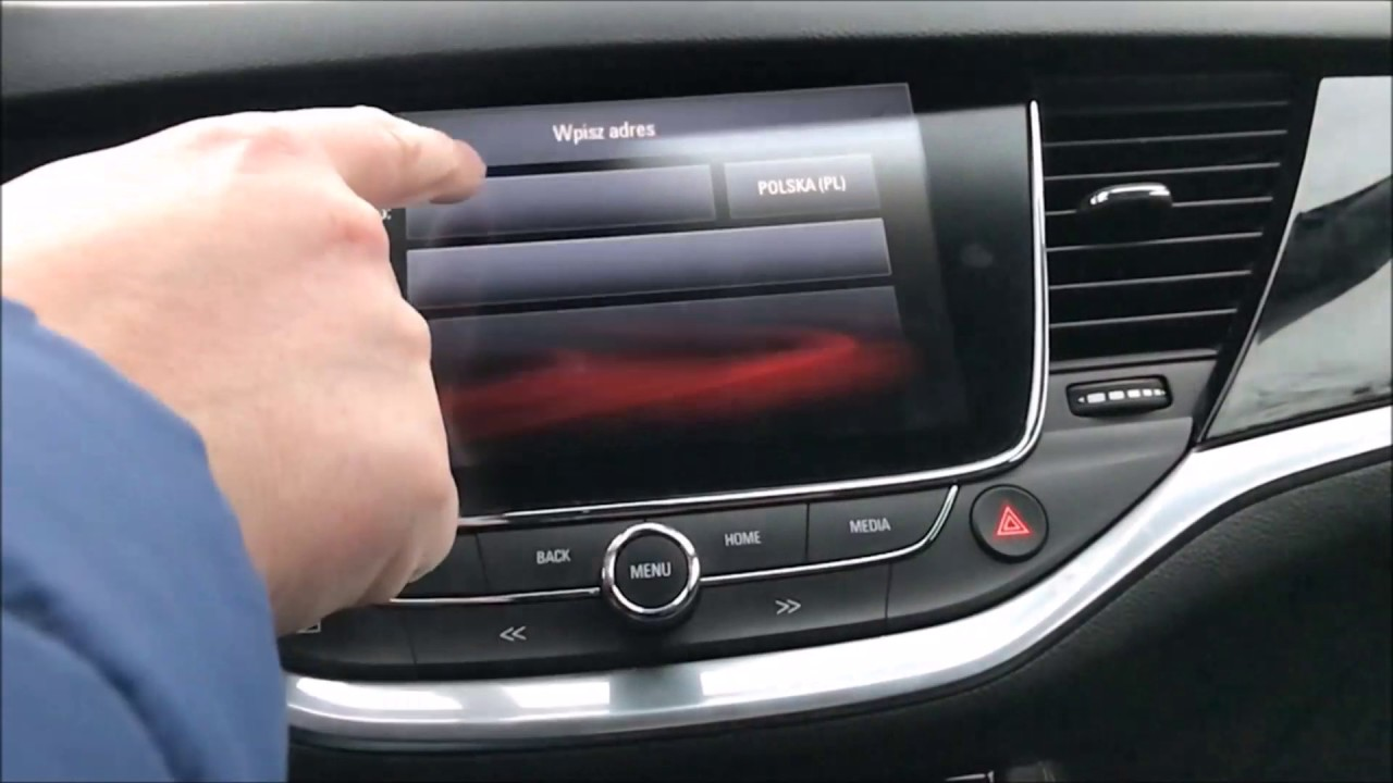 opel astra 2016 navi 900 intellilink youtube