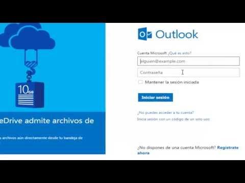 Como crear un correo electrónico de Outlook 2015 (hacer cuenta de Hotmail)