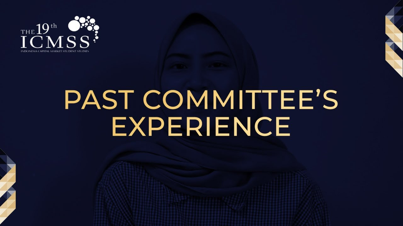 ICMSS' Past Committee's Experience