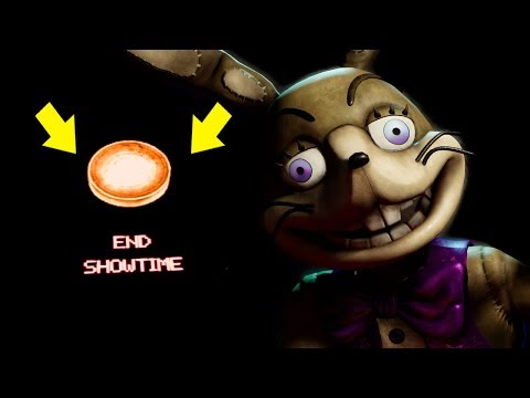DO NOT HACK OUTSIDE THE MAP! SECRET END SHOWTIME BUTTON! | Five Nights At Freddy's VR: Help Wanted