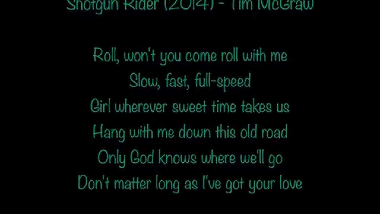 It Love Tim It I I Mcgraw Lyrics
