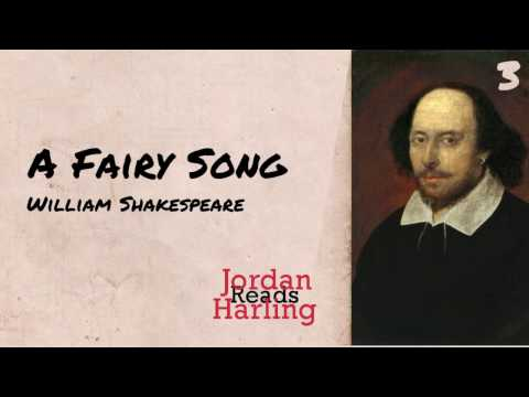 A Fairy Song - William Shakespeare poem reading | Jordan Harling Reads