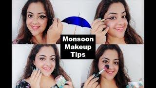 बारिशों में मेकअप कैसे करें | पसीना रहित मेकअप | Monsoon Makeup Tips #Tricks #Hacks #Monsoon #Makeup