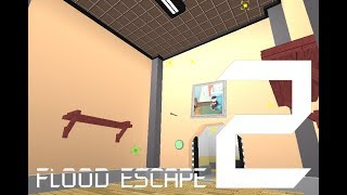 Roblox Flood Escape 2 (Test Map) - Rotate Room (Amazing Insane)
