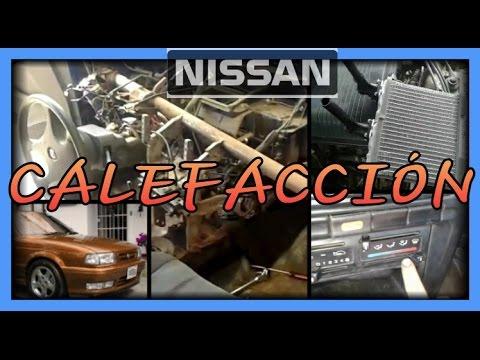 Calefacción Nissan Tsuru, Sentra - YouTube