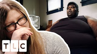 Nearly 800lb Man Agrees to Meet His Internet Girlfriend In Real Life   My 600 Lb Life