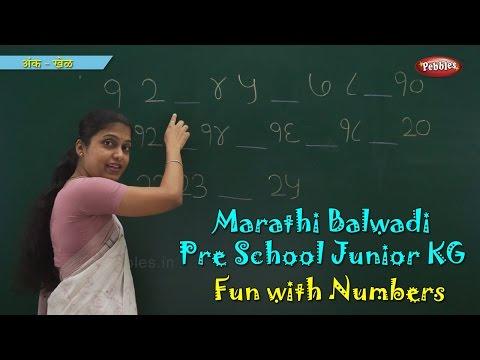 Learn Marathi Numbers | Learn Marathi | Pre School Balwadi | Marathi Learning Videos