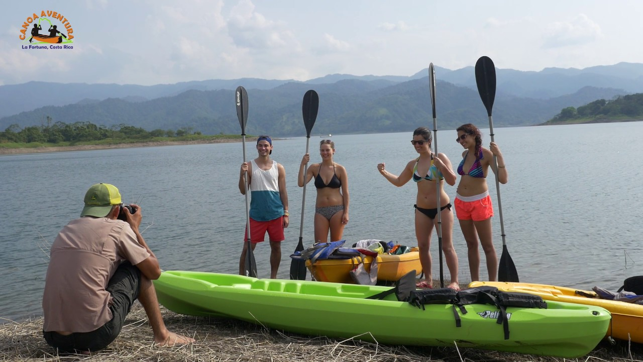 En O Arenal Kayak Canoa Lago GMVqzSUp