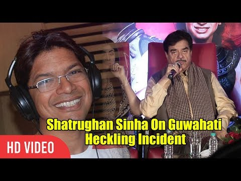 Shatrughan Sinha Reaction On Shaan's Guwahati Heckling Incident | Viralbollywood Mp3