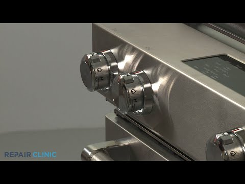 KitchenAid Convection Gas Range Power Burner Control Knob Replacement - Model #KSGB900ESS1
