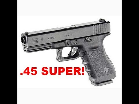 Glock 21  .45 Super Conversion - How To *New*