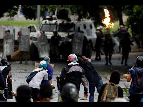 Venezuelans protest expanding presidential power