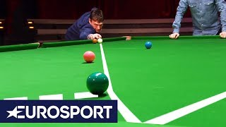Jimmy White: He'll Never Play This Shot Ever Again!   German Masters Snooker 2019   Eurosport