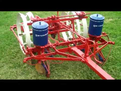 Mccormick 241 Two Row Corn Planter Youtube