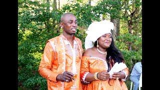 BLOIS LE MARIAGE COUTUMIER DE CLARCHELL ET EUGENE MVOUAMA