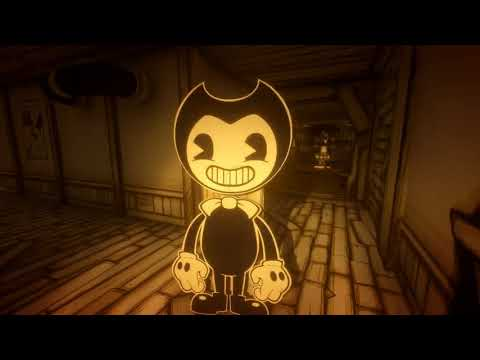 Bendy And the Ink machine chapter 1 (flashing light warning)