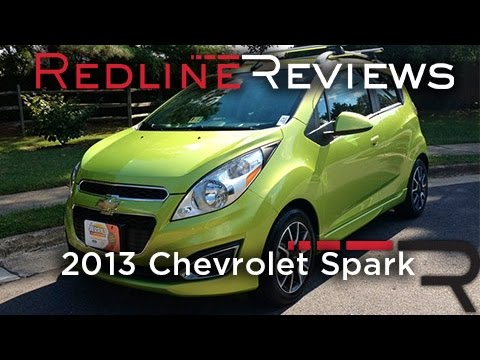 2013 Chevrolet Spark Review, Walkaround, Exhaust, Test Drive