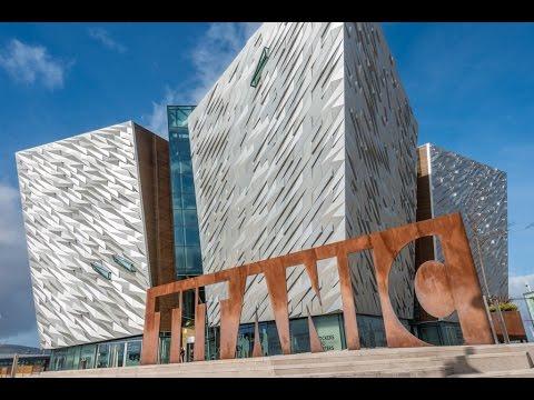 Titanic Museum in Belfast, Northern Ireland