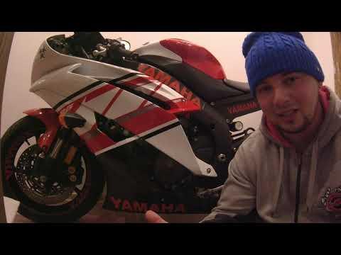 Yamaha R6 /  оклейка мотоцикла наклейками / теория и практика в одном видео