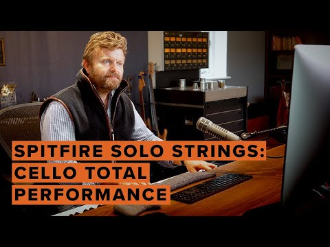 Spitfire Solo Strings: Cello Total Performance