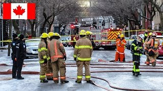 Montréal | Gas Leak Leaves Dozens of Residents Without Heating on New Year's Day in Sainte-Marie