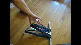 How to use a Niddy Noddy to Wind Yarn into a Skein
