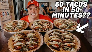 50 Mexican Street Tacos Challenge!!
